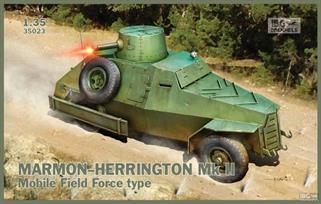IBG Models 35023 1/35 Scale  Marmon Herrington Mk11 Armoured CarGlue and paints are required to assemble and complete the model (not included)