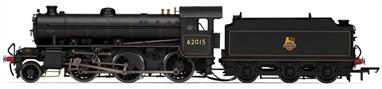 Hornby R3242 00 Gauge BR Thompson/Peppercorn K1 Class 2-6-0 BR Black Early EmblemDCC Ready. 8-pin socket