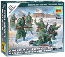 Zvezda 1/72 German Infantry in Winter Uniform 6198.