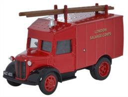 Oxford Diecast 1/76 Austin ATV London Salvage Corps Fire Engine 76ATV006