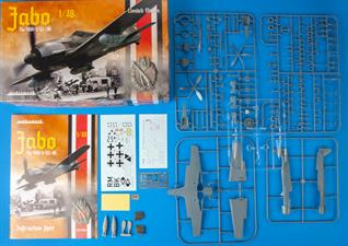 Limited Edition kit of German WWII aircraft Fw 190A  in 1/48 scale. The kit is focused on Fw 190A-5s flown as fighter-bombers.