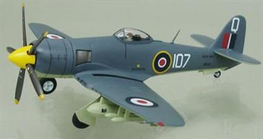 Hawker Sea Fury FB11 Royal Navy VW238/107/Q802 HMS Vengeance Cape Town 1949