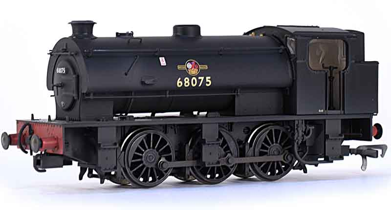 DJ Models BR 68061 J94 Class Hunslet Austerity 0-6-0ST Saddle Tank Shunting Engine BR Black Lettered BRITISH RAILWAYS Original Height Bunker OO OOJ94-002