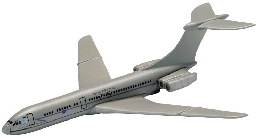 Vickers VC10 from the Showcase Collection CS90626 is a quality die-cast model aircraft suitable for the younger collector. Wingspan 97mm