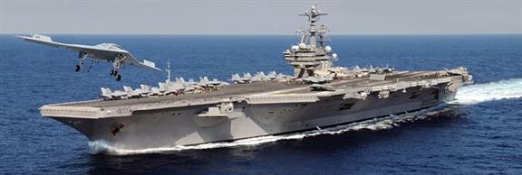 Italeri 1/720 CVN 77 USS George H W Bush Aircraft Carrier Kit 5534Glue and paints are required