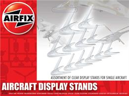 Airfix AF1008 1/72 Assorted Small StandsContaining three sizes of stands suited to 1:72 scale models this assortment enables a whole squadron of aircraft to be displayed.