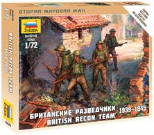 Zvezda 1/72 British Recon Team 6226Paints are required to complete