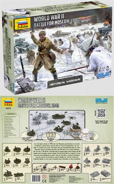 Zvezda 1/72 Battle for Moscow Art of Tactics Wargame 6215