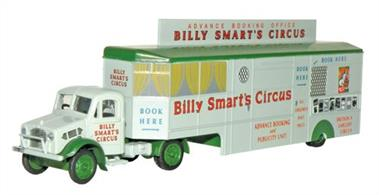 Oxford Diecast 1/76 Bedford OX Booking Office Billy Smarts 76BD013Bedford OX Booking Office Billy Smarts
