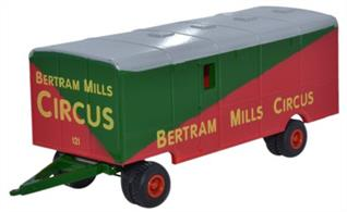 Oxford Diecast 1/76 Showmans Trailer Bertam Mills 76STR001