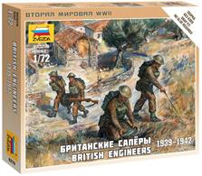 Zvezda 1/72 British Enginneer Figure Set 6219