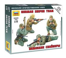 Zvezda 6217 1/72 Scale German Sniper Team