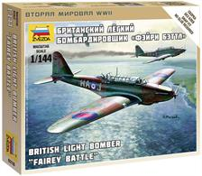 Zvezda 1/144 British Light Bomber Fairey Battle 6218