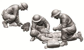 Zvezda 1/72 British Medic Team Figure Set 6228