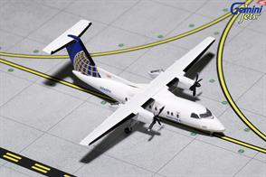 Gemini Jets 1/400 United Airlines Dash 8-200 N365PH Jetliner Model GJUAL1153