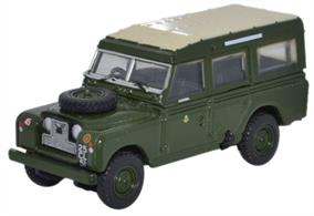 Oxford Diecast 1/76 Land Rover Series II LWB Station Wagon 44th Home Countries Infantry Division 76LAN2007