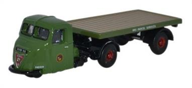 Oxford Diecast 1/148 Scammell Scarab Flatbed BRS Parcels NRAB005Scammell Scarab Flatbed BRS Parcels