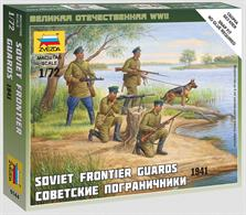 Zvezda 1/72 Soviet Frontier Guard 1941 Figure Set 6144
