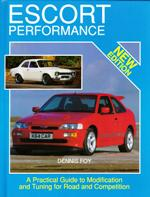 An instructive manual of how to improve and modify the performance of your Ford Escort from engines and brakes through to bodywork reinforcement.<br>Author: Dennis Foy<br>Publisher: MRP<br>Hardback. 160pp. 19cm by 25cm
