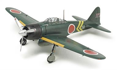 Tamiya 60785 Mitsubishi A6M5 Zero Fighter ZEKE WW2 Japanese Plastic Kit 60785Glue and paints are required