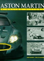 This highly detailed and gloriously illustrated volume chronicles the full motor racing history of Aston Martin, one of the giants of British sports car racing. <BR>Author: Anthony Pritchard. <BR>Publisher: Haynes <BR>Hardback. 384pp. 23cm by 29cm.