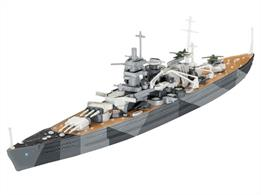 Revell 1/1200 Scharnhorst German WW2 Battleship Miniship Kit 05136Glue and paints are required
