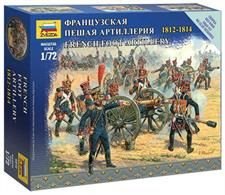 Zvezda 6810 1/72 Scale French Foot Artillery Napoleonic War