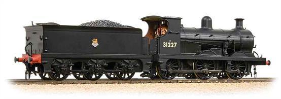 Bachmann Branchline 31-462A OO Gauge BR 31227 Wainwright C Class 0-6-0 Black Livery Early EmblemA very nice and well detailed model of the SE&CR C class 0-6-0 goods engines, a class with a very long life serving the 'Chatham' Southern Railway and British Railways.DCC Ready. 21 pin decoder required for DCC operation.