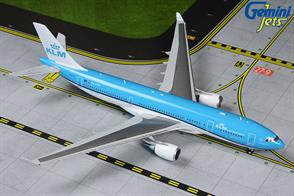 KLM Airbus A330-200 New Livery PH-AOM