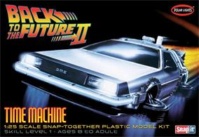 Polar Lights 1/25 Back To The Future Part II Time Machine POL925Snap Together Assembly