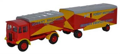 Oxford Diecast 1/76 AEC Matador and Trailer Robert Brothers 76AEC019