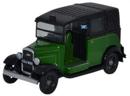 Oxford Diecast 1/76 Austin Low Loader Taxi Westminster Green 76AT005