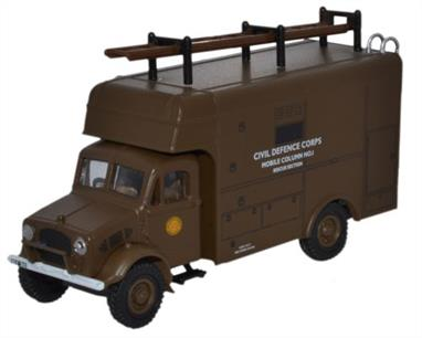 Oxford Diecast 1/76 Bedford OY Van Civil Defence 76BD019
