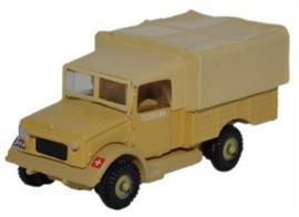 Oxford Diecast 1/148 Bedford MWD Royal Artillery NMWD002