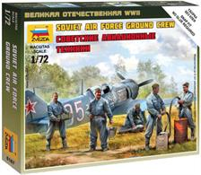 Zvezda 1/200 Soviet Air Force Ground Crew 6187