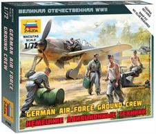 Zvezda 1/200 German Air Force Ground Crew 6188