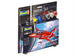 Revell 1/72 BAE Hawk T.Mk 1 The Red Arrows Model Set 64921Length 161mm Number of Parts 60 Wingspan 133mm