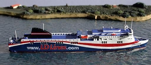 Rhenania RJ260LD Norman Voyager Ferry Model 1/1250