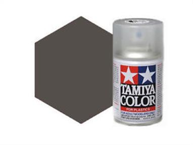 Tamiya TS94 Metallic Grey Synthetic Lacquer Spray Paint 100ml TS-94These cans of spray paint are extremely useful for painting large surfaces, the paint is a synthetic lacquer that cures in a short period of time. Each can contains 100ml of paint, which is enough to fully cover 2 or 3, 1/24 scale sized car bodies.
