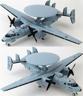Hobby Master 1/72 Northrop Grumman E-2C Hawkeye 111 Squadron, RSAF, Tengah Air Base Republic of Singapore Air Force HA4806