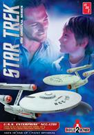 AMT/ERTL Start Trek Enterprise Build2Gether Kits AMT9132 X USS Enterprise (1 Snap & 1 Glue Kit)Glue and paints are required