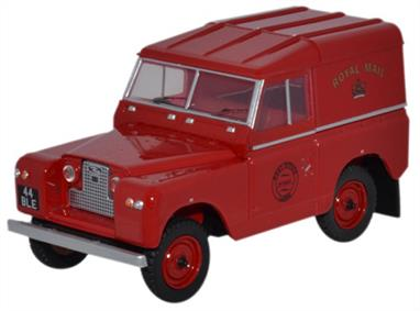 Oxford Diecast 1/43 Land Rover Series II SWB Hard Back Royal Mail 43LR2S001