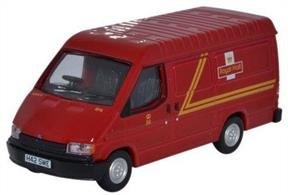 Oxford Diecast 1/76 Ford Transit Mk3 Royal Mail 76FT3002Ford Transit Mk3 Royal Mail