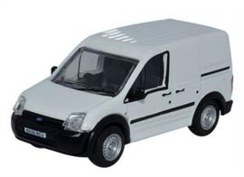 Oxford Diecast 1/76 Ford Transit Connect White 76FTC005Ford Transit Connect White