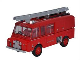 Oxford Diecast 1/76 Land Rover FT6 Carmichael Army Fire Service 76LRC004Land Rover FT6 Carmichael Army Fire Service
