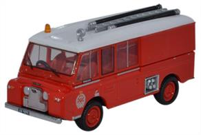 Oxford Diecast 1/76 Land Rover FT6 Carmichael New Zealand Fire Service 76LRC005Land Rover FT6 Carmichael New Zealand Fire Service