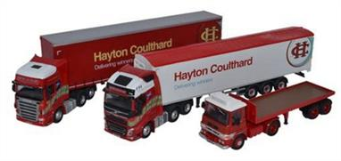 Oxford Diecast 1/76 Hayton Coulthard Centenary Set 76SET45Hayton Coulthard Centenary Set