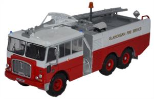 Oxford Diecast 1/76 Thornycroft Nubian Major Glamorgan Fire Service 76TN002Thornycroft Nubian Major Glamorgan Fire Service