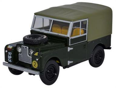 Oxford Diecast 1/43 Land Rover Series 1 88 Canvas REME LAN188020Land Rover Series 1 88 Canvas REME