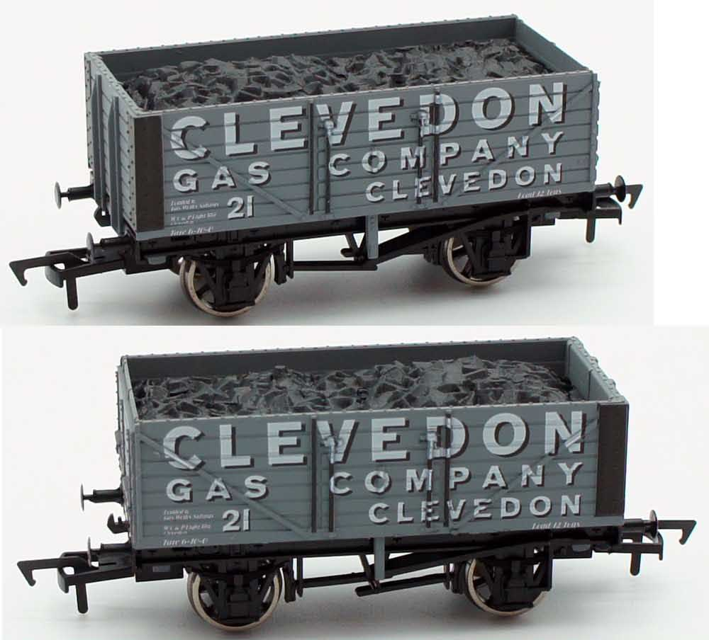 Dapol OO Clevedon Gas Company 7 Plank Open Wagon 21 Antics Limited Edition ANT048
